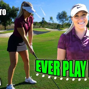 PLAYING ONE OF OUR FAVORITE GOLF GAMES!