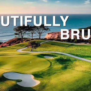 PLAYING TORREY PINES IN TOURNAMENT CONDITIONS IS BRUTAL!