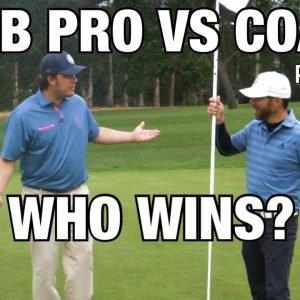 PRO VS AMATEUR  //WHO WINS THE EPIC GOLF MATCH?
