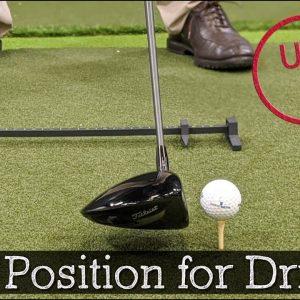 Proper Driver Ball Position for Amateur Golfers
