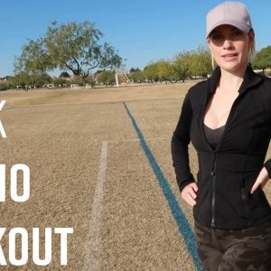 QUICK CARDIO WORKOUT // DO ANYWHERE, AT ANY FITNESS LEVEL
