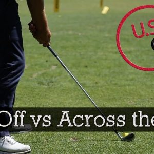Should Your Golf Swing Be Laid Off or Across the Line?