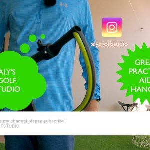 Simple and Effective Golf Swing Practice Aid - Hanger
