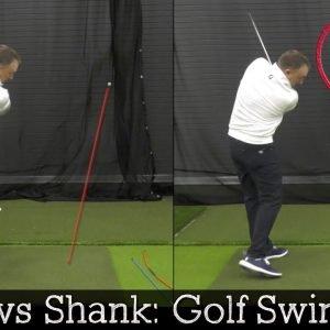 Slice vs Shank:  Golf Swing Tips