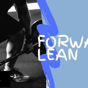 Strengthening Exercise 1: Forward Lean