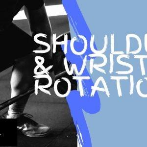 Strengthening Exercise 17: Shoulder Wrist Rotation
