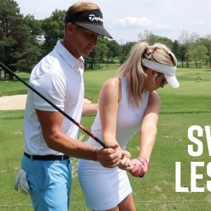 TAKE A LESSON WITH ME // INSTRUCTION WITH MY SWING COACH TYLER HALL