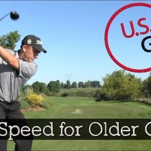 The Best Tip to Give Older Golfers More Driver Distance
