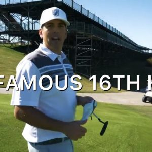 THE FAMOUS 16TH HOLE AT TPC SCOTTSDALE!