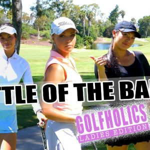 THE MATCH CAME DOWN TO THE LAST PUTT!/BATTLE OF THE BABES