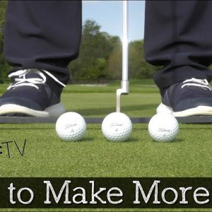 The Proper Ball Position for Putting - Make More Putts!