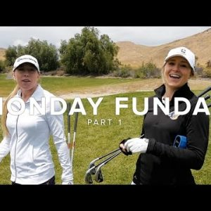 THESE GIRLS FROM UCR GOLF TEAM CAN PLAY!/PART 1