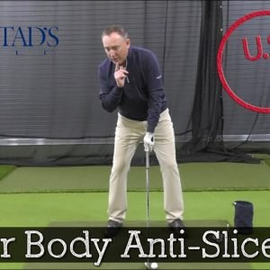 This Setup Tip Can Fix Your Slice in 5 Swings (Golf Slice Fix Drill)