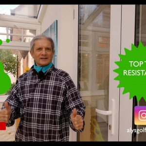 Top 10 Resistance - for an easy, repeatable and injury free swing
