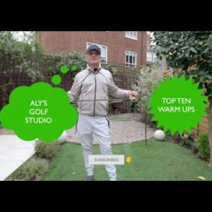 Top 10 Warm Ups -best simple golf warm up exercises & golf swing tempo