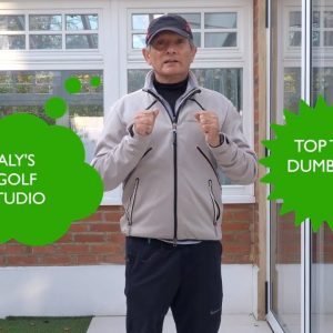 Top Dumbell Fitness Exercise - best easy golf swing drills for golfers