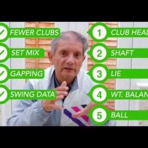 Top Ten Golf Series - Top custom Fitting Tips