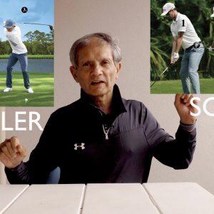 top ten series pro golf swing comparisons fowler vs scott