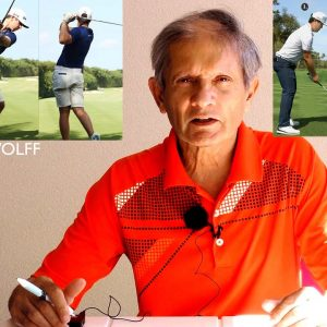 top ten series pro golf swing comparisons: WOLFF VS IM