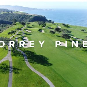TORREY PINES GOLF COURSE LIKE YOU'VE NEVER SEEN IT BEFORE | GOLF VLOG 6