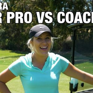 TOUR PRO VS FORMER GOLF COACH/COACH IS ON FIRE!