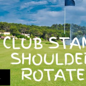 Warm Up Exercise 30: Club Stand Rotate