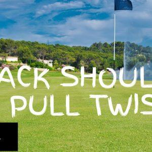 Warm Up Exercise 32: Back shoulder pull twist