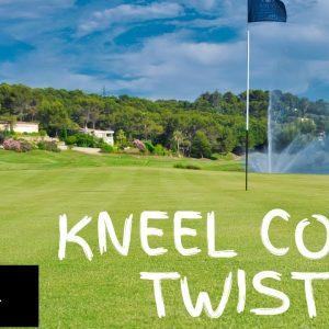 Warm Up Exercise 8: Kneel Core Twist