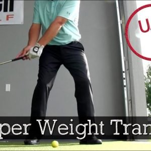 Weight Distribution at Address, Top of Swing and Impact