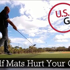 Will Hitting Off Golf Mats Hurt My Game?