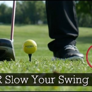 You Should NEVER Slow Your Swing Speed