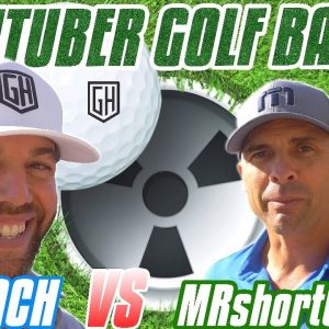 YOUTUBER GOLF MATCH/MRshortGAME CALLS OUT COACH!
