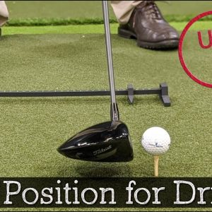 Driver Ball Position - The Easiest 20 Yards You Can Add to Your Swing
