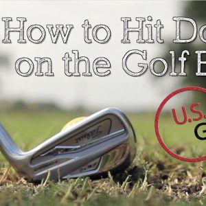 How to Hit Down on the Golf Ball With Irons