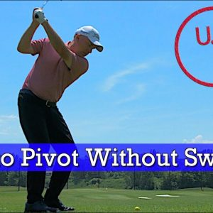 Sway vs Pivot - How to Get a Better Golf Swing (GOLF ROTATION)