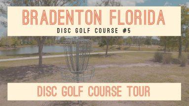 The New 9 hole Disc Golf course in Florida - Bob Gardner Park - Beginners course tour - Bradenton FL