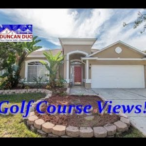 4232 HARBOR LAKE DRIVE, LUTZ, Florida 33558 Golf Course Views with Pool Listing Tour The Duncan Duo
