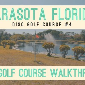 9 Holes at Payne Park Disc Golf Course in Sarasota Florida - NEW Course tour in 4k - Beginner Course