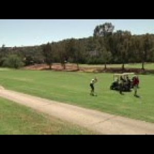 Golf courses in California are ripping up acres of turf grass to save on water costs and conserve th