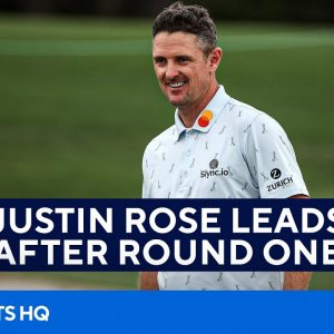2021 Masters: Justin Rose Leads after Round 1 | FULL Recap | CBS Sports HQ