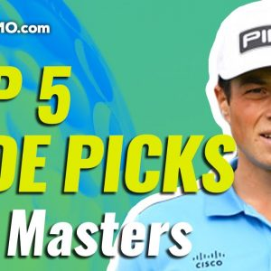 2021 MASTERS TOP-5 DFS FADES | Daily Fantasy Golf