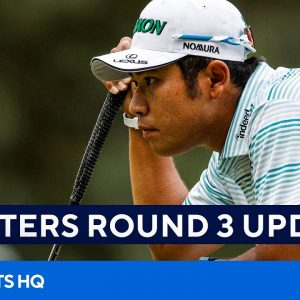 2021 Masters Update: Hideki Matsuyama in Lead at 11 Under | CBS Sports HQ