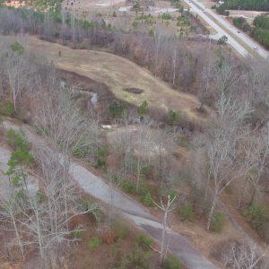 Abandoned Golf Course Flyover Upstate South Carolina