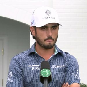 Abraham Ancer: Friday quotes 2021 The Masters Tournament