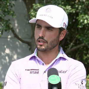Abraham Ancer Wednesday Flash Interview 2021 The Masters Tournament