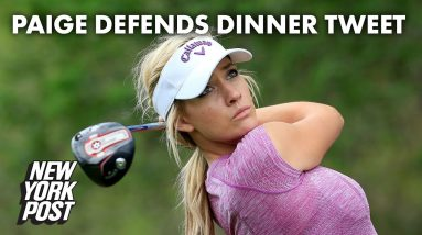Paige Spiranac fires back after 'disgusting' response to Masters tweet | New York Post