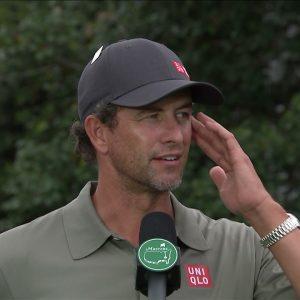 Adam Scott: Friday quotes 2021 The Masters Tournament
