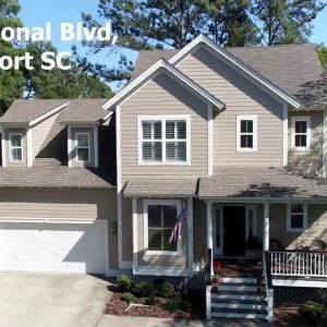 House for Sale 29 W National Blvd, Beaufort SC Golf Course Community on Cat Island