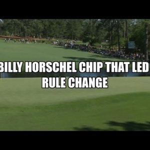 Billy Horschel at the Masters 2016 - Golf Rules Explained