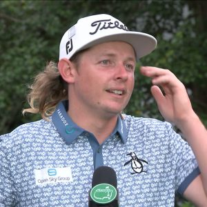 Cameron Smith Saturday Flash Interview 2021 The Masters Tournament